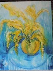 Les mimosas.