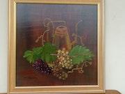 Les raisins. Marie-Claude Riviere