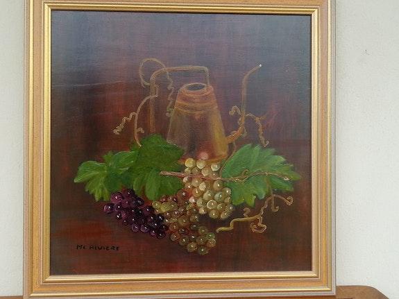Les raisins. Marie-Claude Riviere Marie-Claude Riviere