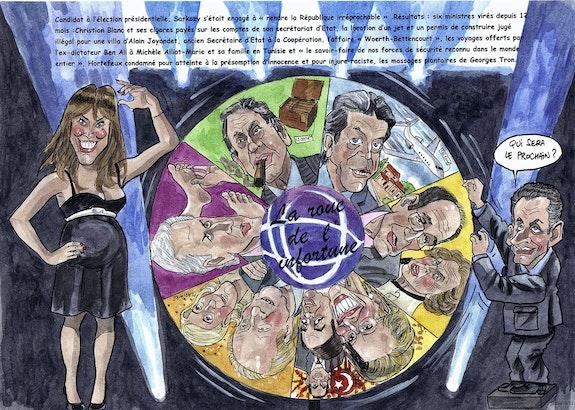 La roue de l'infortune ou la république irréprochable de Sarkozy. Jethro Jethro