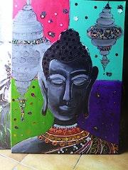 Mon ambiance zen… Le Bouddha. Léa Monté