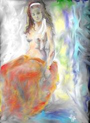 Nudité, beauté et transparences. Elyse
