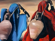 The water carriers. Gillian Morris