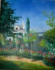 Jardin d'après Monet. Danièle Berger