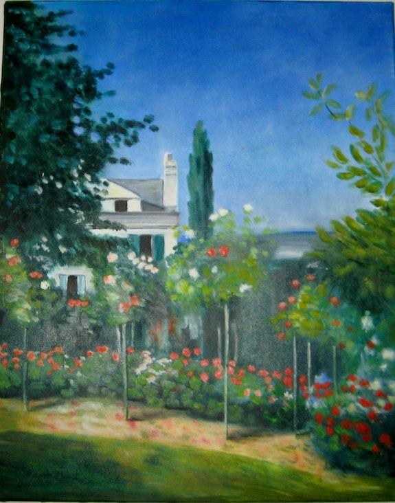 Jardin d'après Monet. Danièle Berger Danièle Berger