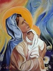 La mère et l'enfant.