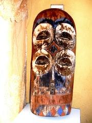 Mascara antiguo africano. Marie France Vanden Bossche