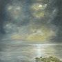 Mysterious Moonlight. Sandra Francis Paintings