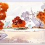 Sunday in Autumn (0005). The William Frederick Brooks Collections