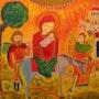 La fuite en Egypte. Marie-Noëlle Dérobert
