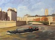 L'Ile de la Cités et le pont d'Arcole. Thierry Lefort