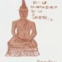 Buddha Sukhothaï (Blood Art). Ravenéros