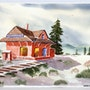The Old Train Station (0014). The William Frederick Brooks Collections