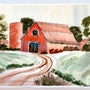The Red Barn (0019). The William Frederick Brooks Collections