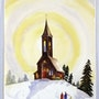 Old Church in Winter (0023). The William Frederick Brooks Collections