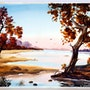 Trees by the River. The William Frederick Brooks Collections