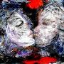 The kiss. Ioana Jitaru