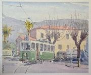Le tram de Nice. Stéphan Fraiteur