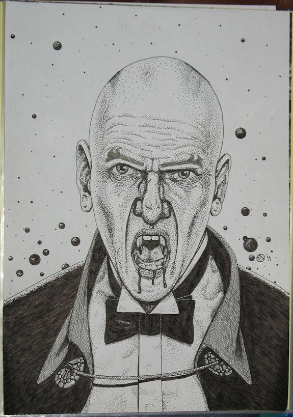 Vampyre (Dracula). Martin Jaques Dragonz Art