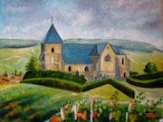 L'église de Chavot (51).