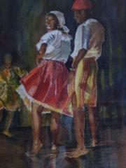 Danse antillaise. Gustave Calendini