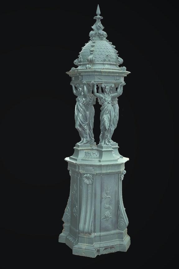 Paire de fontaines Wallace époque 1880.  Antiquités Achat-Vente Objets d'Art 17Ème Et 19Ème