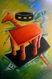 Chaise royale. Jules K. Arouka