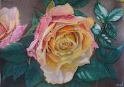 La rose du Maître. Sandrine Hardjani
