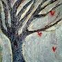 «L'arbre à coeurs». Catherine Husenau