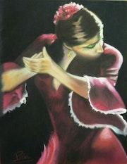 Bailarina Flamenca.