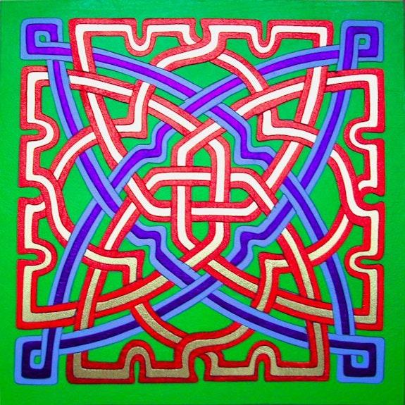 Marqueteria en cuero azulejo arabe alhambra. Alfonso Torres Alfonso Torres