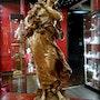 Statue en bronze signée Hippolyte Moreau. Marc Menzoyan Antiquités