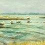 La mer remonte à Pénerf. Dany Wattier