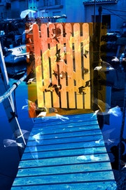 Séte. A la pointe courte ouvrez la porte de la mer vers la lumière du voyage.. Créartiss/créactif