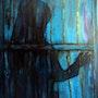«Portón azul». Isabel De La Cruz