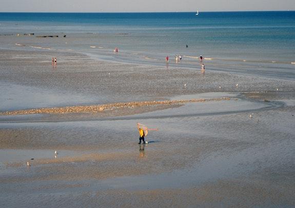 La solitude du pêcheur de crevettes. Michel François Duc Alias Artistenvues Mfd