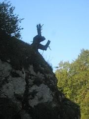 Buggs bunny nous surveille du haut de son rocher….