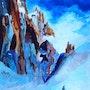 Aiguilles des Drues - Mt Blanc. Luc Xavier