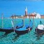 Venise l'île San Giorgio Maggiore. Luc Xavier