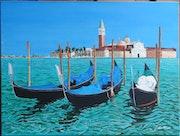 Venise l'île San Giorgio Maggiore.