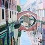 Venise - le rio Widman. Luc Xavier