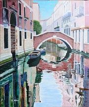 Venise - le rio Widman.