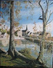 Tillay le peneux (un village Beauceron).