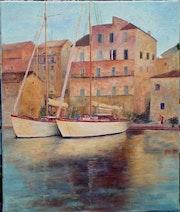 Le port de Propriano - Corse.