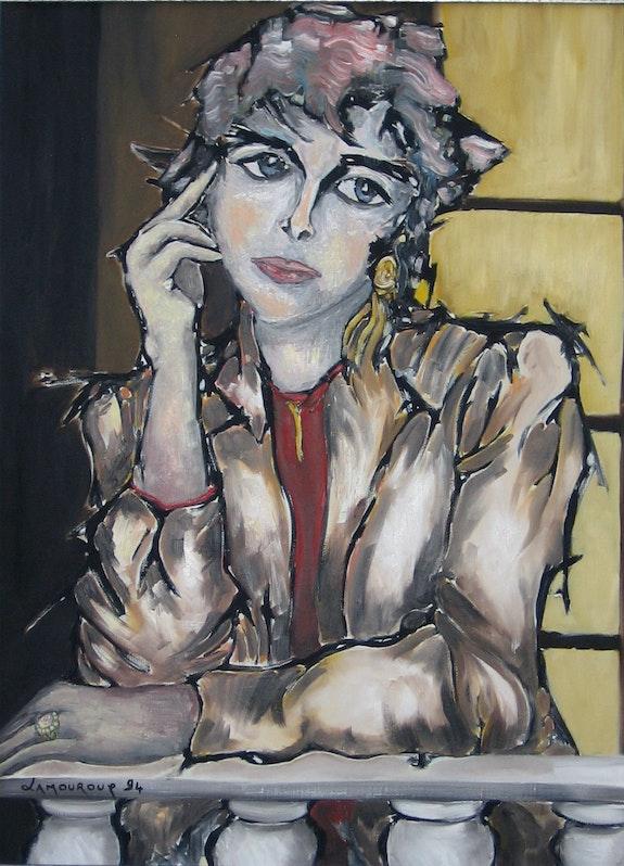 La femme à la balustrade. Bertrand Lamouroux Bertrand Lamouroux