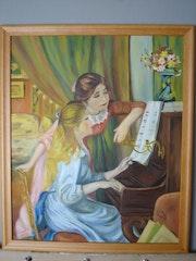 Jeunes filles au piano. Mouxycat