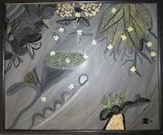 Variations de gris. Isabelle Dalle-Parmentier
