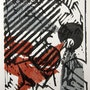 Assest - aus der Serie Ikonenbeschläge- (Original Farbholzschnitt). Axel Zwiener