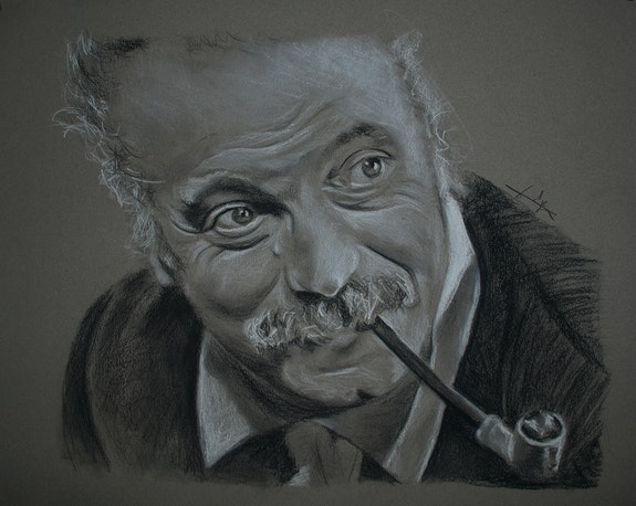 Georges Brassens. Philippe Flohic Philippe Flohic