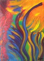 N°19 » Marguerite bronze au soleil » (30 10 11).